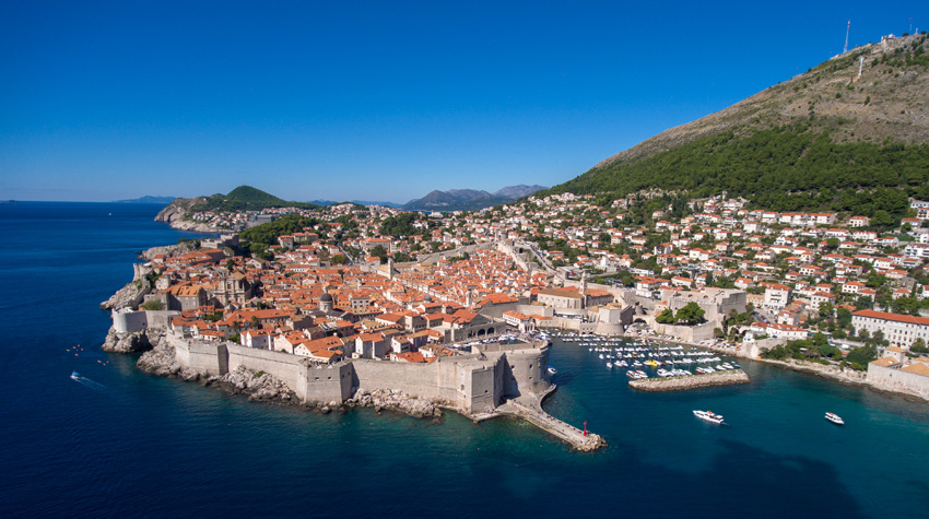 Dubrovnik city walls are among top 10 places to see in Croatia
