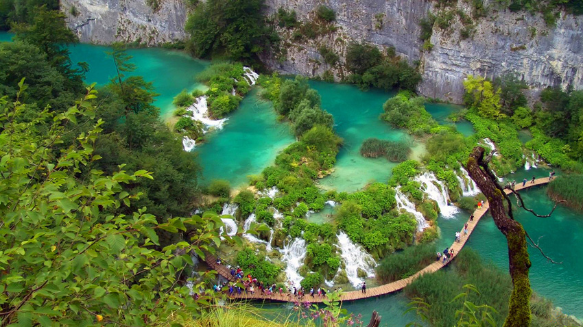 Plitvice lakes, amazing nature, Croatia