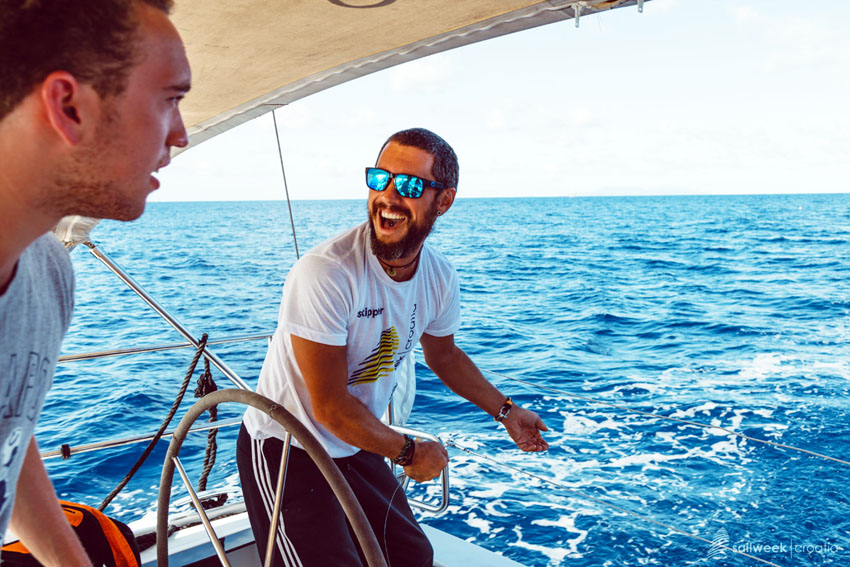 Sail Week Croatia uses local skippers in their fleets