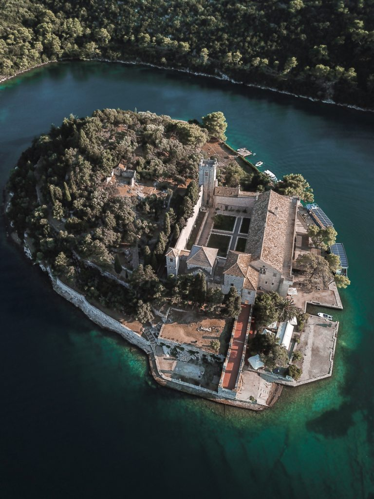 To enjoy stunning scenery from hills above the Mljet coastline and Park you can take a hike up the hills (200 m) to get the views.