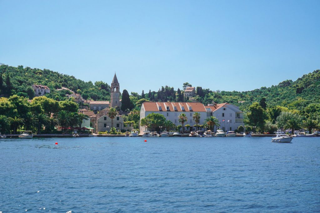 Sipan is the largest of the Elaphiti Islands, 17 km northwest of Dubrovnik