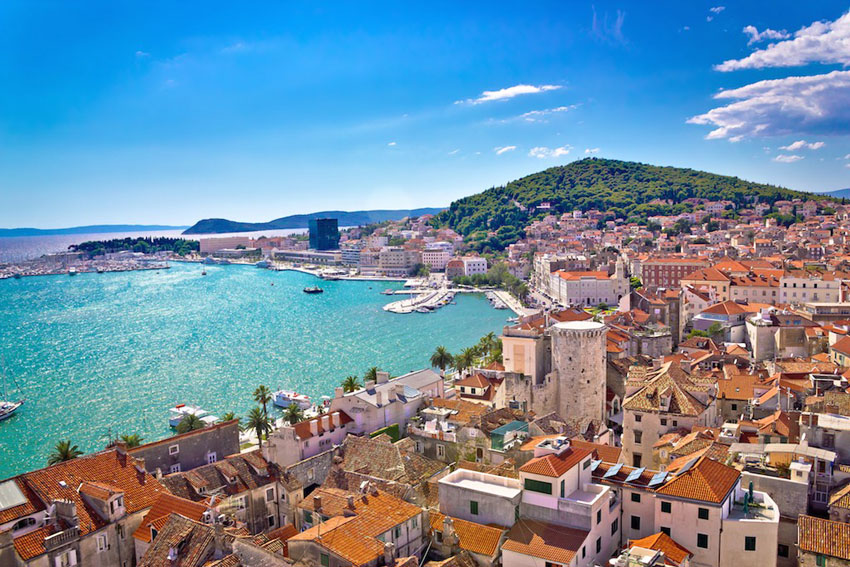 Split ACI Marina, Starting point of Sail Week Croatia routes